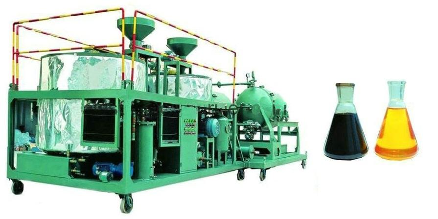 Переработка отработанного масла в топливо